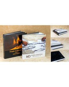 Album foto hardcover, patrat, 15x15, 10 file (20-30 poze)
