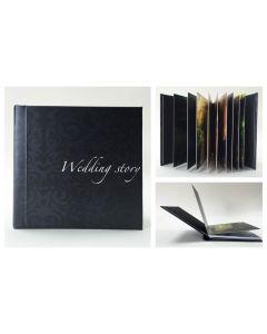 Album foto hardcover, patrat, 30x30, 25 file (60-70 poze)