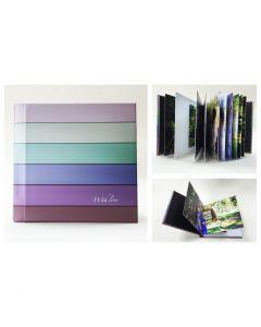Album foto hardcover, patrat, 15x15, 20 file (40-50 poze)