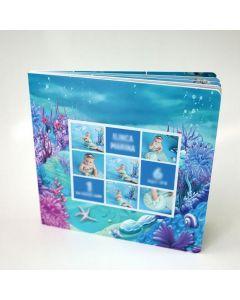 Album foto softcover, patrat, 15x15, 10 file (20-30 poze)