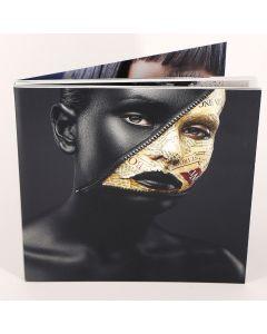 Album foto softcover, patrat, 20x20, 10 file (30-40 poze)